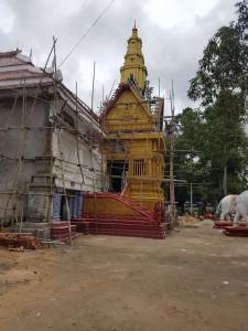 Build a cremation ground in Prey Vor Pagoda