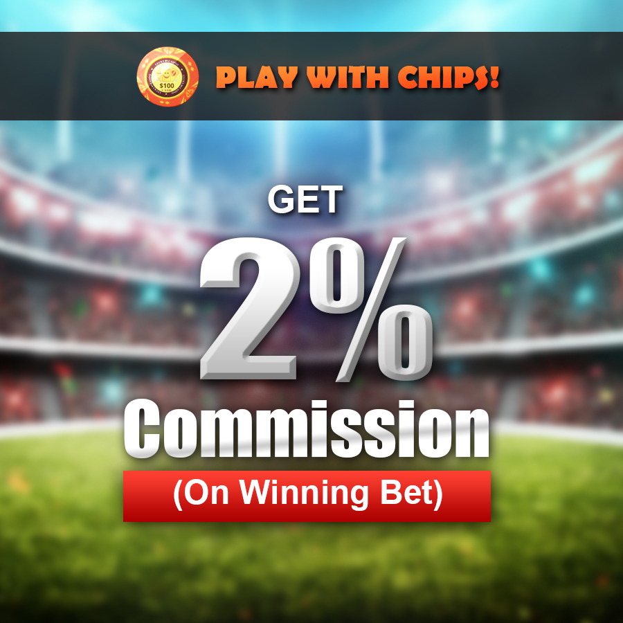 High Rebate Commision On Winning Bet