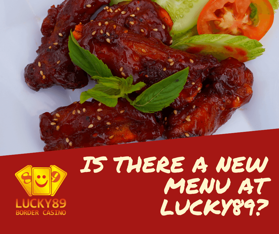 Is There a new menu at Lucky89